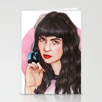 grimes Stationery Cards featuring Grimes III  by Helen Green