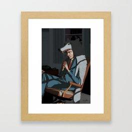 The Wolf of Wall Street - Leonardo Dicaprio Framed Art Print