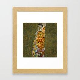 Gustav Klimt - Hope II Framed Art Print