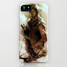 [ Daryl Dixon * Norman Reedus ] the walking dead Slim Case iPhone (5, 5s)