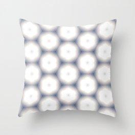 Sakura Hex by Friztin Throw Pillow