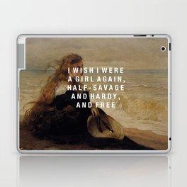 half-savage and hardy, and free Laptop & iPad Skin