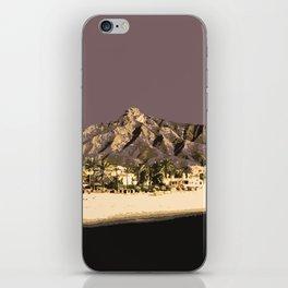 Marbella Mocha iPhone Skin