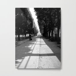 Jardin du Luxembourg; Paris, France Metal Print