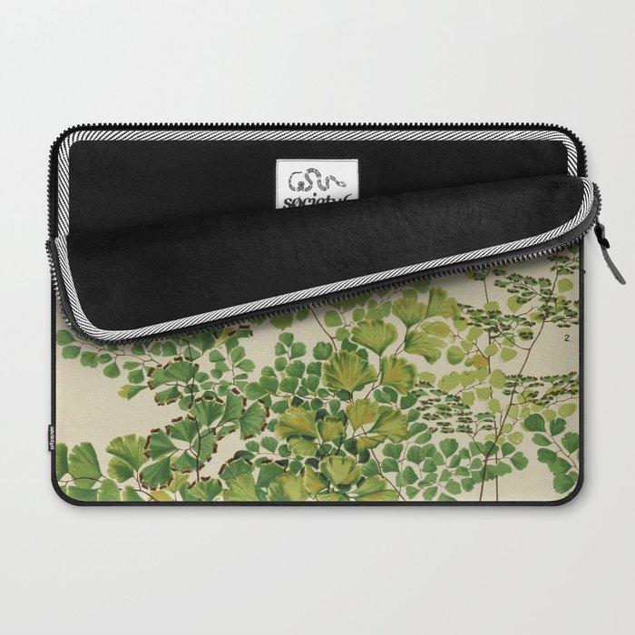 Maidenhair Ferns Laptop Sleeve