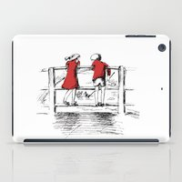 friendship iPad Cases featuring Friendship by Ginta Spate