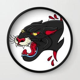 Panthera pardus Wall Clock