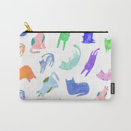 Cat - Colorful Carry-All Pouch