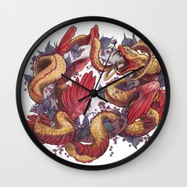 Ouroboros Wall Clock