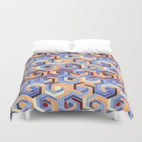 60s Duvet Covers featuring Back in the 60s terra by MehrFarbeimLeben