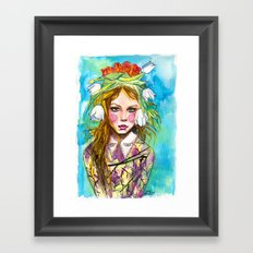 Fashion - Spring is Coming Framed Art Print