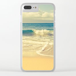 Kapalua Maui Hawaii Clear iPhone Case
