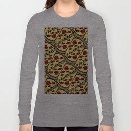 pattern pizza Long Sleeve T-shirt