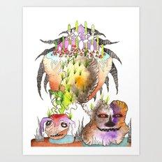 Superluminal Communication Art Print