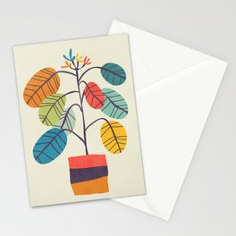 Potted plant 2 Stationery Cards