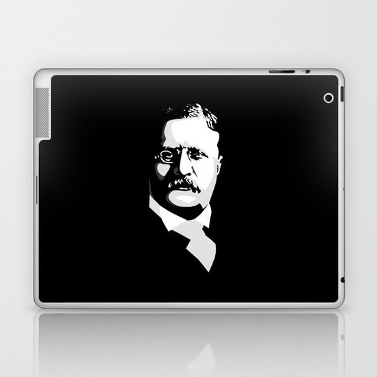 Teddy Roosevelt Laptop & iPad Skin