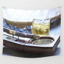 Cigar Time Wall Tapestry