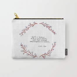 Badass with a good Heart- R. H. Sin Carry-All Pouch
