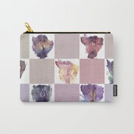 Verronica Kirei's Vulva Portrait Quilt Carry-All Pouch
