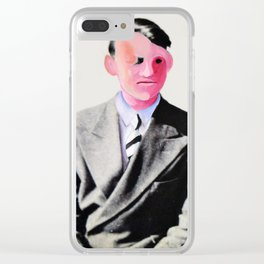 A Gentle man Clear iPhone Case