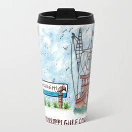 Mississippi Gulf Coast Travel Mug