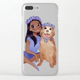 Savannah and Cody Clear iPhone Case