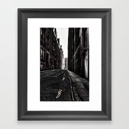 China Lane MANchester Framed Art Print