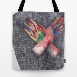 Hands #4 Tote Bag