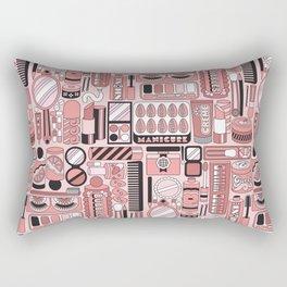 Beauty Routine Classy Rectangular Pillow