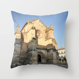 Golden San Miguel (Cordoba) Throw Pillow