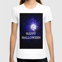 halloween T-shirts featuring HALLOWEEN by Whimsy Romance & Fun