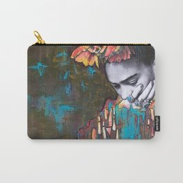 frida loves turquoise Carry-All Pouch