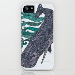 Deep Violet iPhone Case