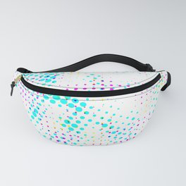 Pinpoints in rows Fanny Pack