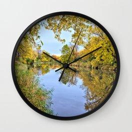 Autumn On Beaver Creek 3 Wall Clock