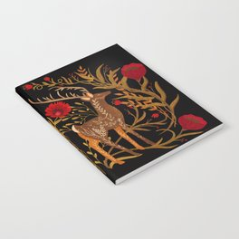 Two Stags Protecting The Dark Forest Gate Notebook