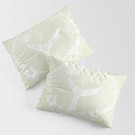 Vintage Lahaina Please White Whales Tail Pillow Sham