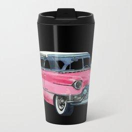 Pink Cadillac Travel Mug