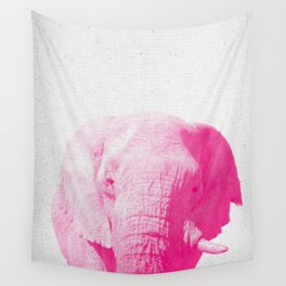 Elephant 02 Wall Tapestry