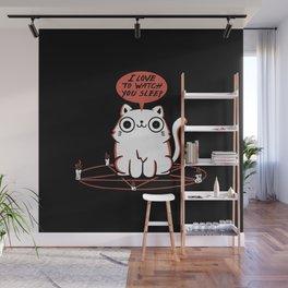 I Love To Watch You Sleep Wall Mural