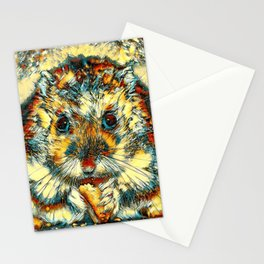 AnimalArt_Hamster_20170901_by_JAMColorsSpecial Stationery Cards