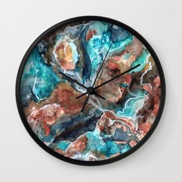 Etheral Nebula Wall Clock