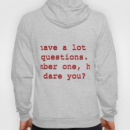 office quote 2 Hoody