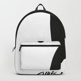 surfs-up_amigo-white-black Backpack