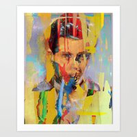 tchmo Art Prints featuring Untitled 20150303w by tchmo