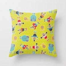Circus Time Throw Pillow