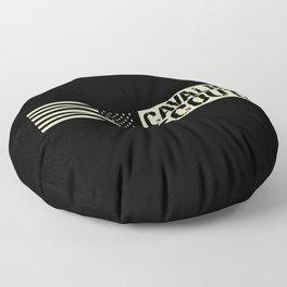 Cavalry Scout (Black Flag) Floor Pillow