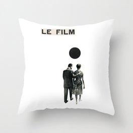 Le Film Throw Pillow