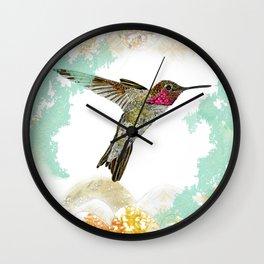 Hummingbird Ayre Serene Dream Wall Clock
