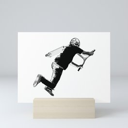Tail-whip - Stunt Scooter Trick Mini Art Print